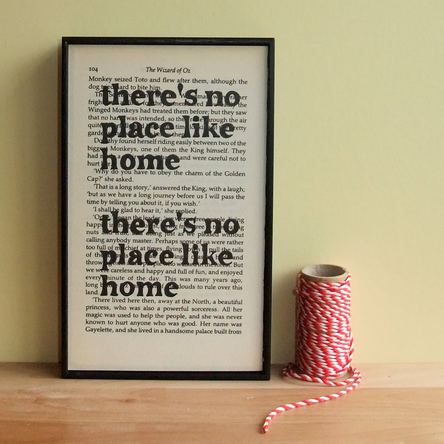 There 39 s no place like home housewarming gift wizard of oz House warming present